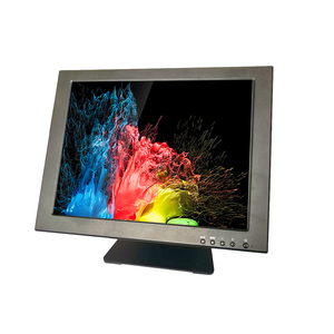 Cheap Touch Screen Monitor 15 Inch LCD 1024*768 USB VGA Interface Display Monitor