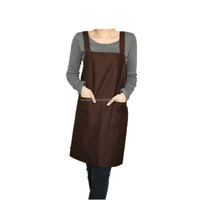 professional customized working kitchen organic cotton fabric wholesale apron