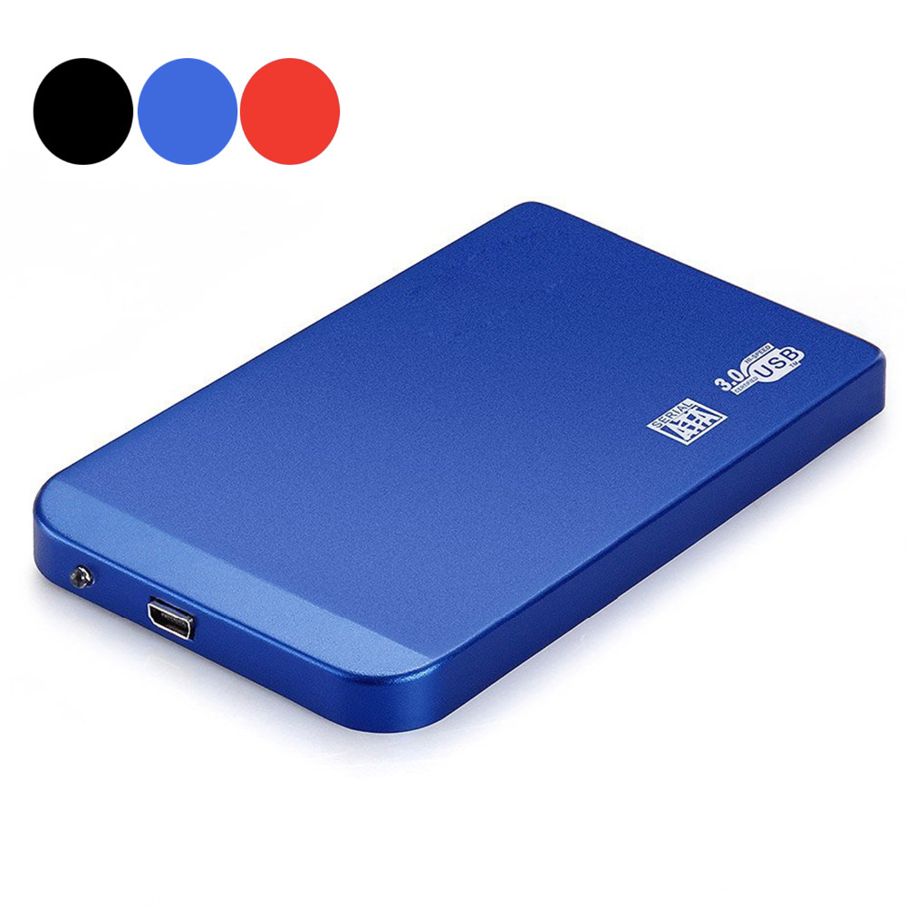 Good Quality Aluminum 2.5 inch USB 3.0 SATA Hard Drive Mobile Disk External Case 2.5'' HDD Enclosure