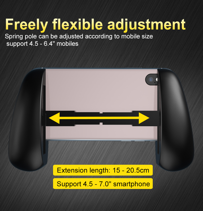 New Cheap Mobile Gamepad Egg Shape Foldable Handle Grip Portable Mobile Phone Gamepad for mobile