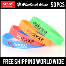 Newest printed wristbands | cheapest silicone printed wristbands | Beautiful Customized pad printed wristbands