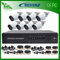 Alibaba China Supplier bullet cctv ir camera digital wireless dvr kit ahd cctv dvr kit