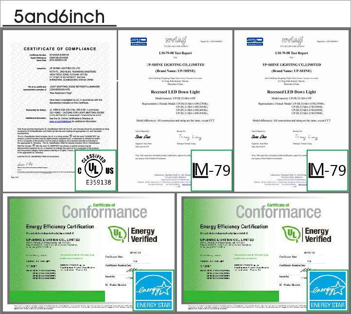 5inch 6 Inch Retrofit Kit E26 Base 10w Led Recess Light Wifi Smd ...