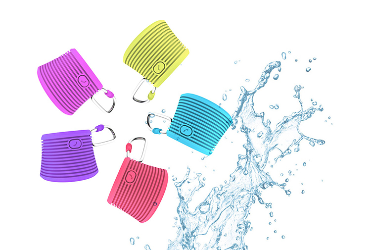 Birthday Surprise Gift Mobile Phone Outdoor Waterproof Mini Square Speaker