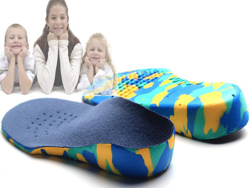 Kids Children EVA orthopedic insoles for children shoes flat foot arch support orthotic Pads ...
