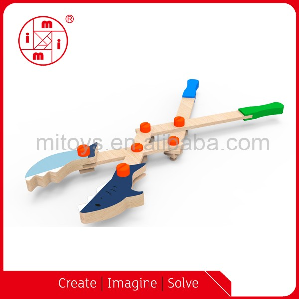 Wooden assembling educational others toys construction DIY STEM toys