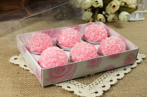 Pink Rose Ball for Wedding Party