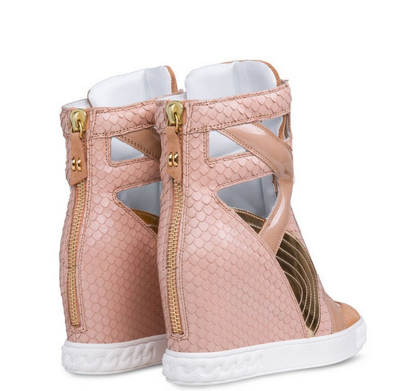 Fashion sneaker heel women shoes
