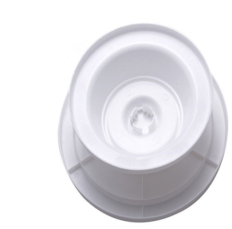 white plastic rotary turntable /rotating round cake baking tools/Revolving Cake Decorating Stand