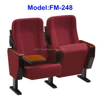 FM-248 Folded auditorium chair with back table