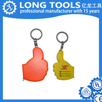 High quality 1m 1.5m tyre tape measure keychain ruler cm measuring tool