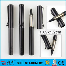 black copy brand metal clip lamy 1.0mm roller gel ink plastic promotional pen