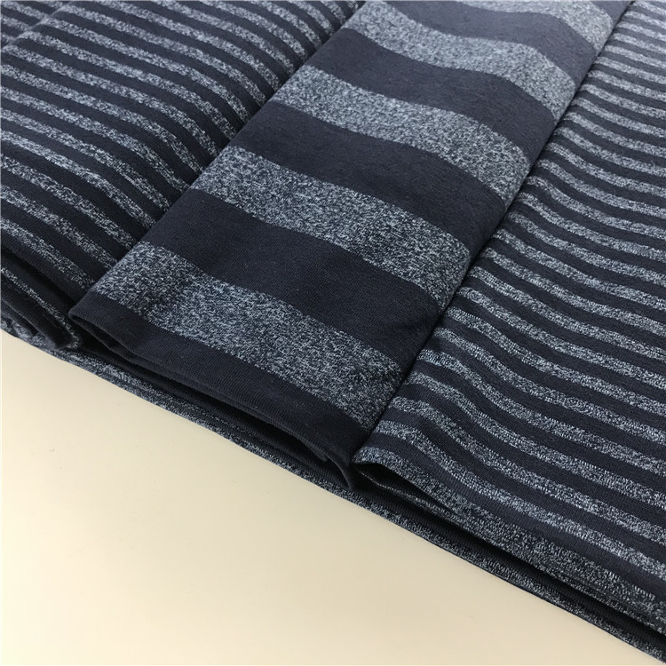 High quality 40S combed 95% cotton 5% elastane t shirt fabric price