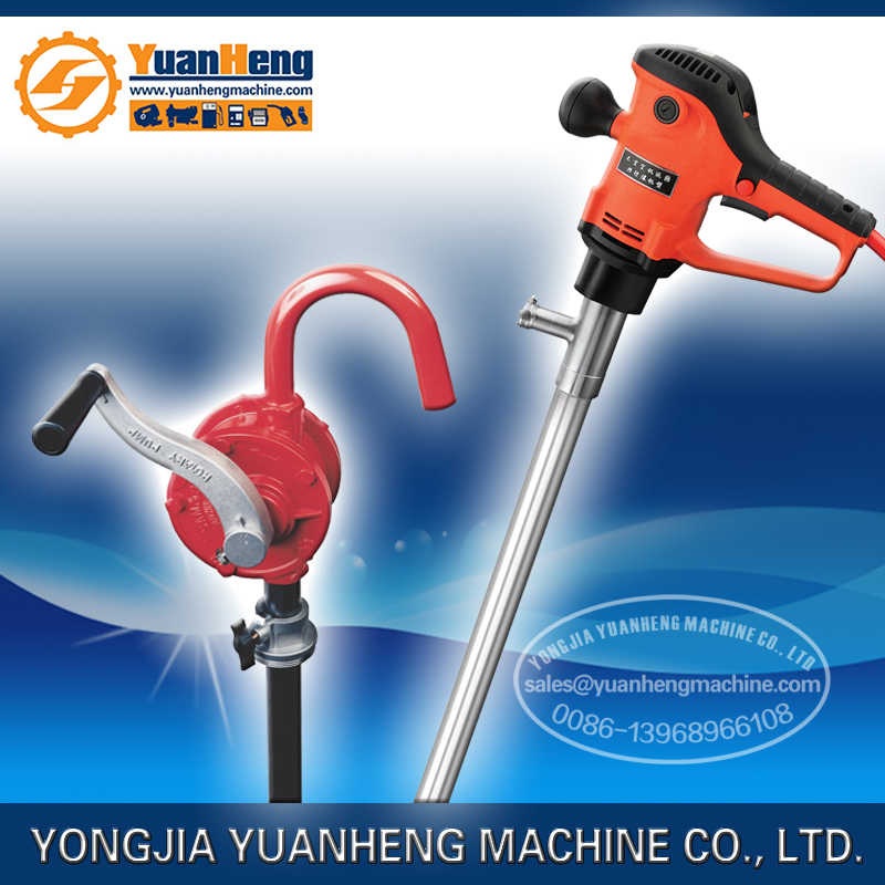 fuel oil barrel pump/hand rotary oil pump