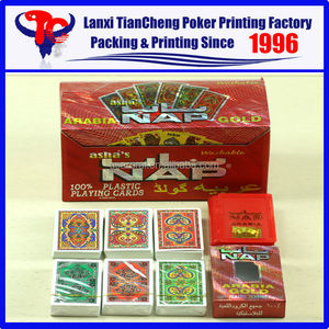 2015 HIGH QUALITY LASER NAP 100% best plastic playing cards are selling like hot cakes