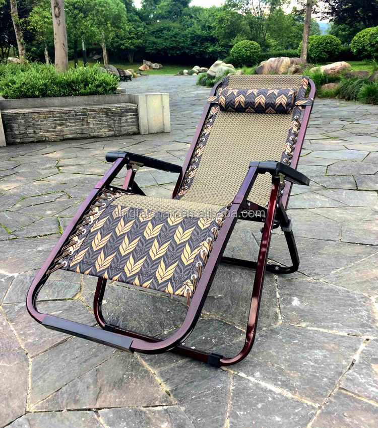 Jard n al aire libre barato silla anti gravedad cero sill n reclinable playa plegable silla de - Sillon gravedad cero ...
