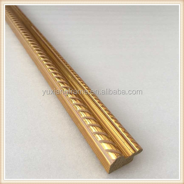 Factory Direct Wholesale Reddish Golden Fancy Design Ps Frame ...