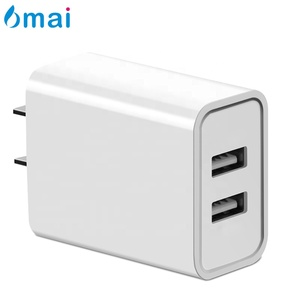 6mai 2.4A Universal Portable Travel Fast Quick USB Wall Charger