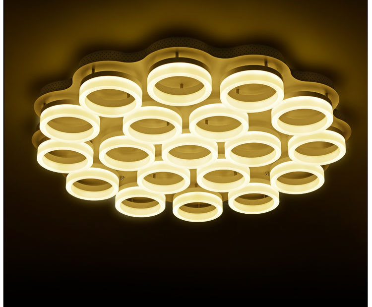 Hot Selling Fancy Circular Fluorescent Ceiling Light 108w