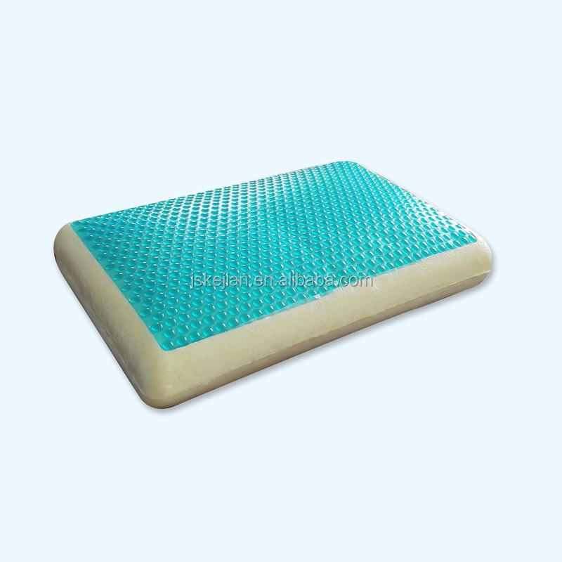 Premium Quality Traditional Shape Cooling Visco Gel Memory