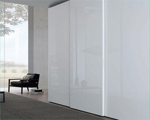 Laminated Plywood Wardrobe Clothes Closet With Doors Buy