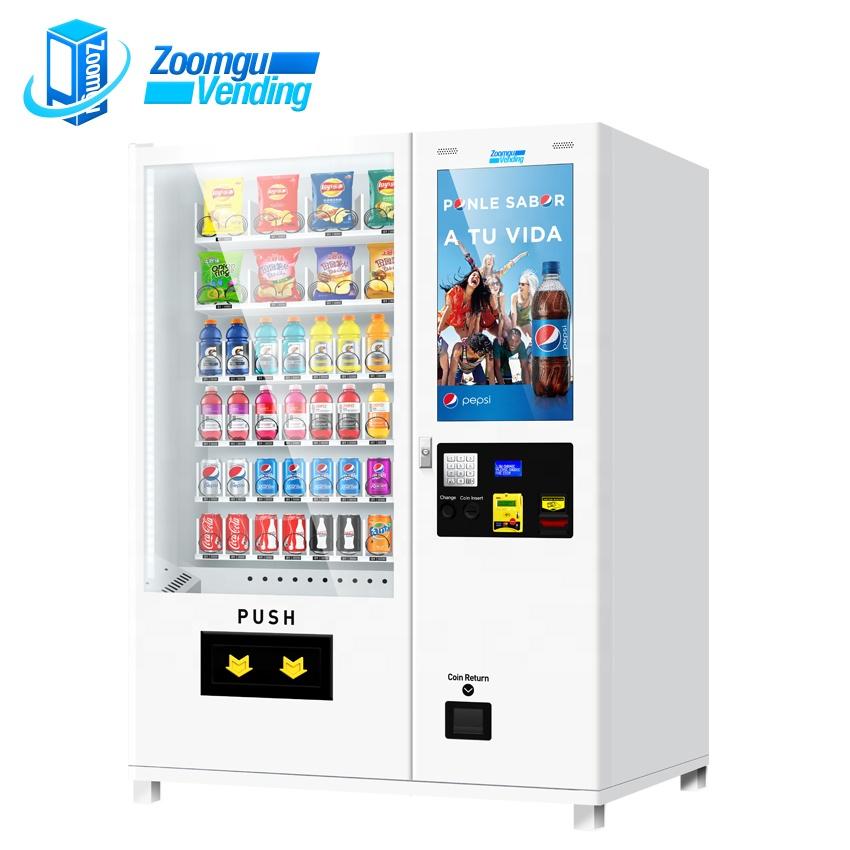 ZG ce&sgs certificated snack/soda vending machines manufacture