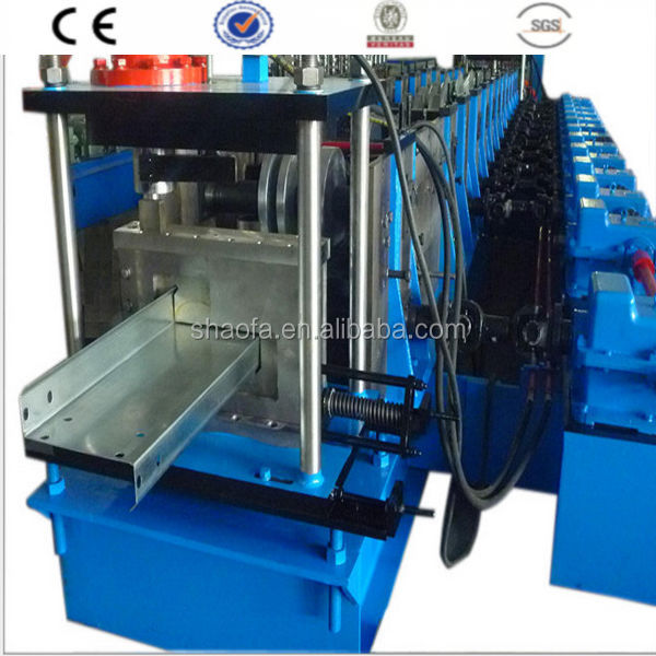 Most Popular Z Channel Suppiler Roll Forming Machine