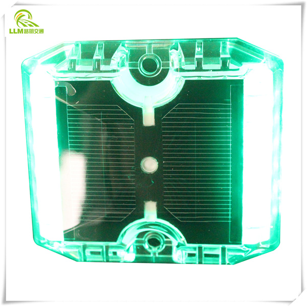 Factory outlet 12pcs LED plastic solar cat eye road stud