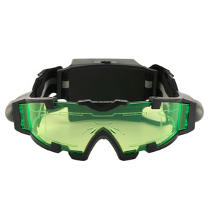New Arrivals Adjustable LED Night Vision Goggles With Flip-Out Lights Eye Lens Glasses Hot Selling Goggles