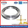 Single row four-point contact ball slewing bearing 010.20.200