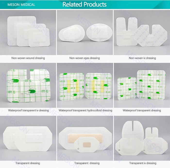 Free Sample Advance Medical Equipment Hydrocolloid Dressing Made ...