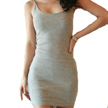 Mode Frauen Sexy Backless Grund Kleider Sleeveless Dünnen Vestidos dame bodycon sommerkleid