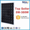 High quality 250W 260W monocrystalline solar panel PV module with CE RoHS