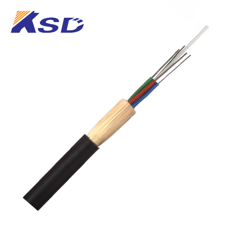 Customized Length (High) 저 (Quality 야외 hexacopters와 Flypro Single-mode Fiber ADSS 광 Cable Price 당 Meter
