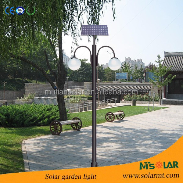 Outdoor 5yrs warranty garden dwarf solar light/3m garden lighting pole light