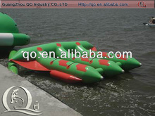 Attractive price inflatable sea banana boat for selling