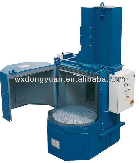 Q35 rotary table shot blasting machine