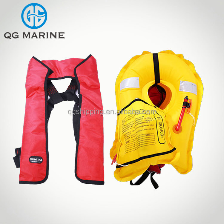 SOLAS approved Single Cell Life Jacket Inflatable