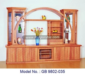 Wooden Tv Cabinet In Mdf With Glasstv Stand Mdf Living Room Modern