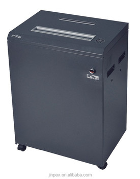 Jp 500c A2 Cross Cut Heavy Duty Paper Shredder For Office Use