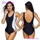 USA Warehouse Delivery Plus Size Sport Style One Piece Swimsuit Swimwear Manufacturer