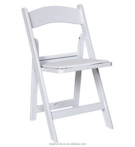 wholesale cheap wedding chairs/white wood folding chair