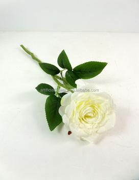 Decorative single artificial flower white rose buy single rose decorative single artificial flower white rose mightylinksfo