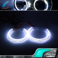 for bmw 131mm COB LED Ring Lighting E46 cob led angel eyes ring for bmw e46