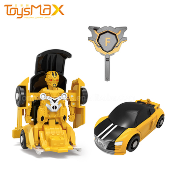 Wholesale Mini Attacking One Key Transform Robot For Kids