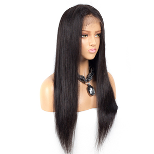 Indian Human Hair Wigs 10a Hair Braided Lace Front Wigs