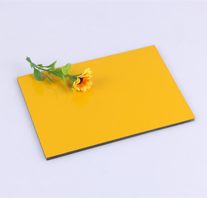 high gloss color aluminum composite panel manufacturer from Linyi city China