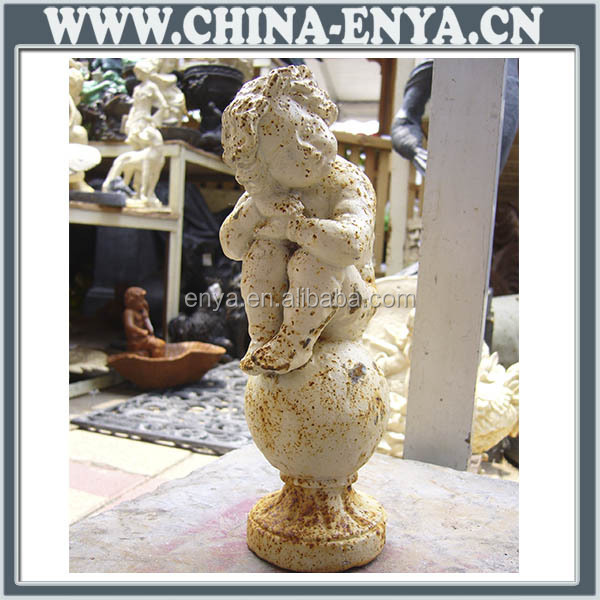 China Supplier Contemporary Wholesale Silver Metal Angel Figurines ...