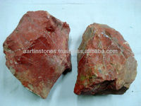 Red Indian Jasper Rough Stone