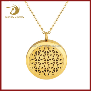 Dongguan Gold Color Diffuser Pendant Charms For Men 2018